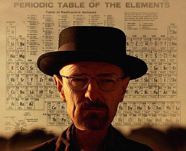 Digital Art - Heisenberg by Bill Cannon