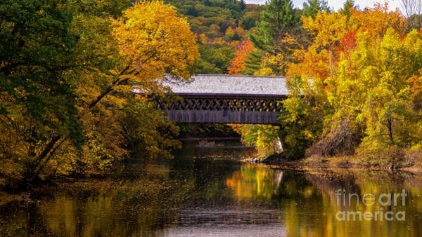 Photograph - Henniker Bridge. by New England Photography