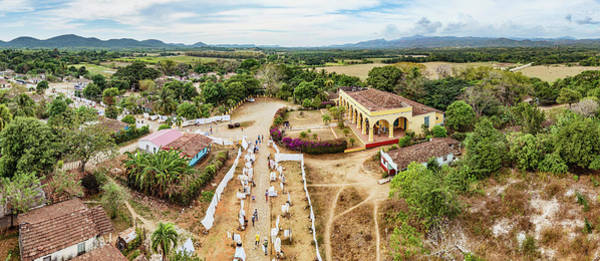 High Angle View Of Valle De Los Art Print
