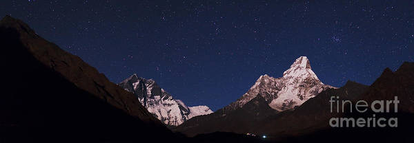 Wall Art - Photograph - Himalayas At Night by Babak Tafreshi