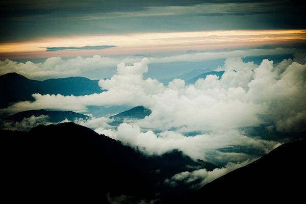 Wall Art - Photograph - Himalayas Mountain With Clouds  Panaramic by Raimond Klavins