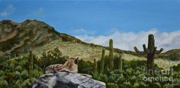 Mary Rogers Painting - His Domain by Mary Rogers