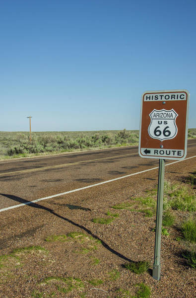 Historic Old Route 66 Passed Art Print