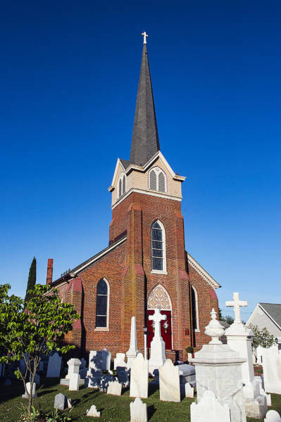 Lewes Photograph - Historic St Peter's Episcopal Church by John Greim