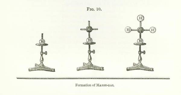 Wall Art - Photograph - Hofmann's Chemical Models by Royal Institution Of Great Britain / Science Photo Library