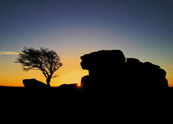 Photograph - Holwell Tor On Dartmoor by Pete Hemington