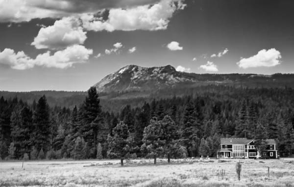 Plumas County Photograph - Home In The Valley by Mick Burkey