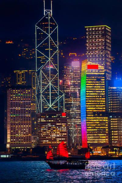 Hongkong Photograph - Hong Kong by Luciano Mortula