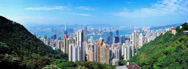 Photograph - Hong Kong Mountain Top View by Songquan Deng