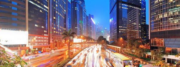Photograph - Hong Kong Street View by Songquan Deng