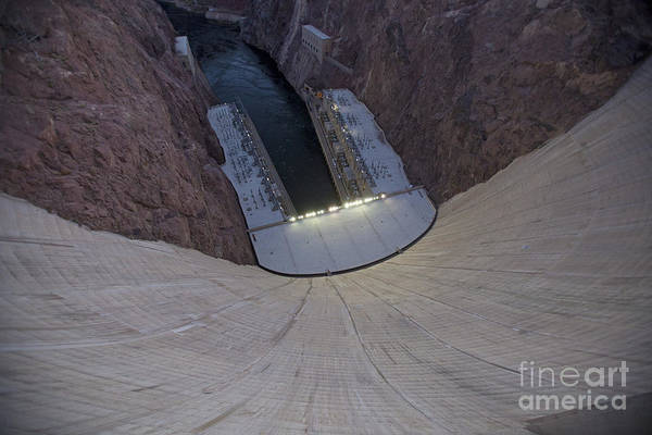 Photograph - Hoover Dam by Jim West