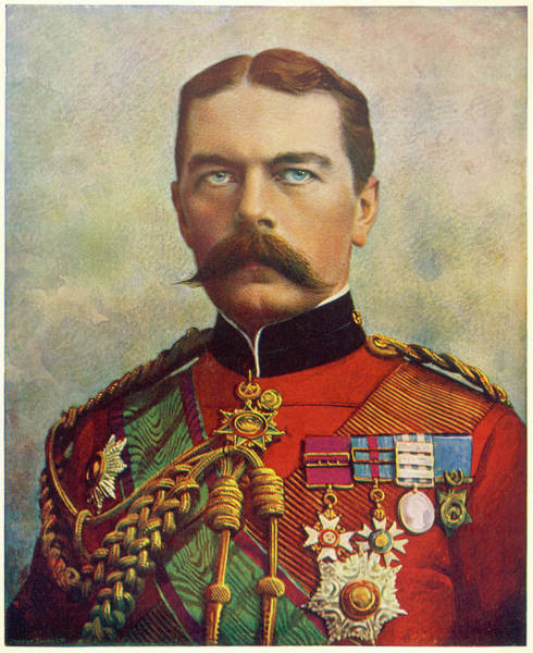 Gold Medal Drawing - Horatio, Lord Kitchener 1st Earl by Mary Evans Picture Library