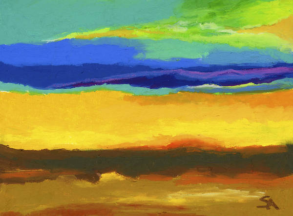Wall Art - Painting - Horizons by Stephen Anderson
