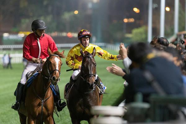 Horse Racing In Hong Kong - Happy Valley Racecourse Art Print by Lo Chun Kit