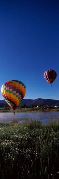 Steamboat Springs Photograph - Hot Air Balloons Rising, Hot Air by Panoramic Images