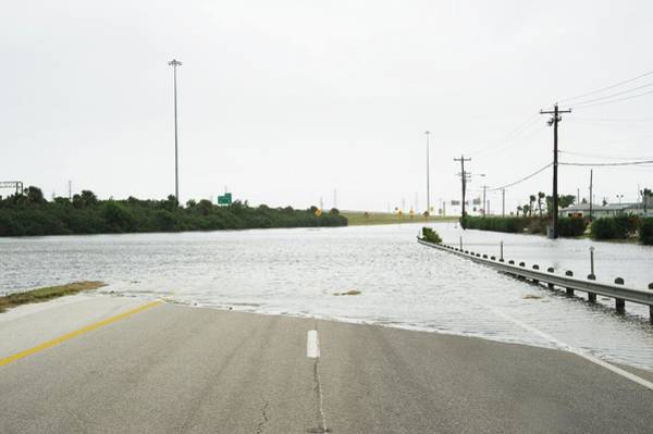 Highway 12 Wall Art - Photograph - Hurricane Ike Flood Waters by Jim Reed Photography/science Photo Library