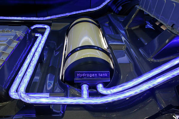 Eco-system Photograph - Hydrogen Fuel Cell Concept Car by Jim West