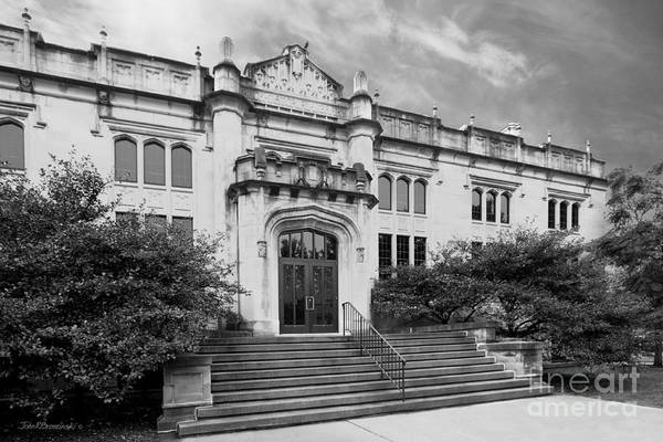 Photograph - Illinois Wesleyan University Buck Memorial Library by University Icons