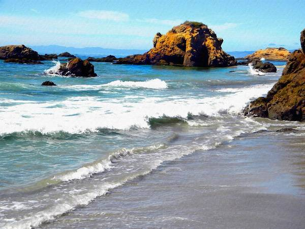 Photograph - Incoming Tide by Frank Wilson