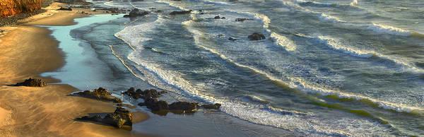 Wall Art - Photograph - Incoming Waves At Bandon Beach Oregon by Tim Fitzharris