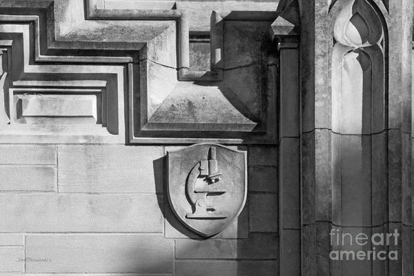 Photograph - Indiana University Jordan Hall Detail by University Icons