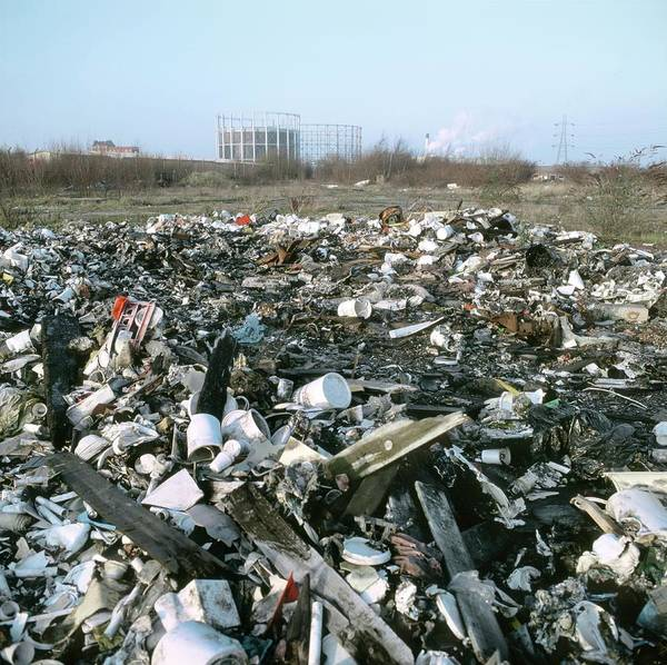 Wall Art - Photograph - Industrial Waste by Robert Brook/science Photo Library