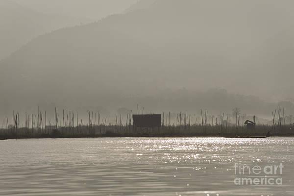 Photograph - Inle Lake by Maria Heyens