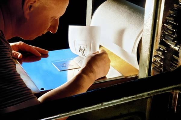 Printing Photograph - Intaglio Printmaking by Patrick Landmann