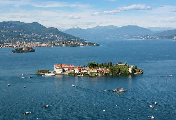 Photograph - Isola Bella, Lake Maggiore, Italy by Ken Welsh