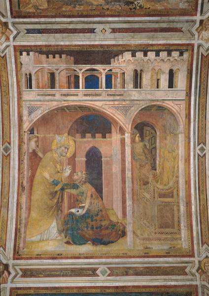 Wall Art - Photograph - Italy, Umbria, Perugia, Assisi, Papal by Everett