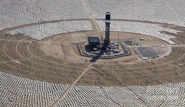 Photograph - Ivanpah Solar Project by Jim West