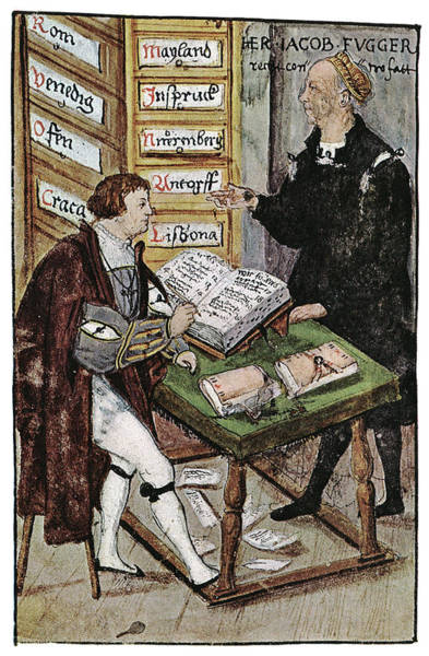 Drawers Painting - Jacob Fugger (1459-1525) by Granger