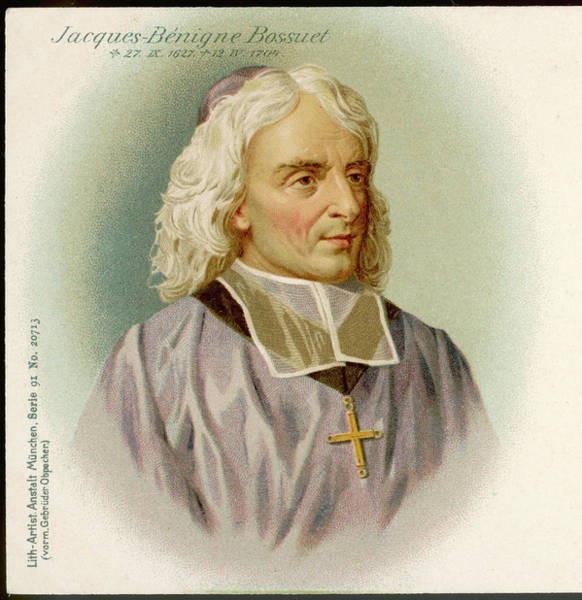 Wall Art - Drawing - Jacques Benigne Bossuet  French Divine by Mary Evans Picture Library