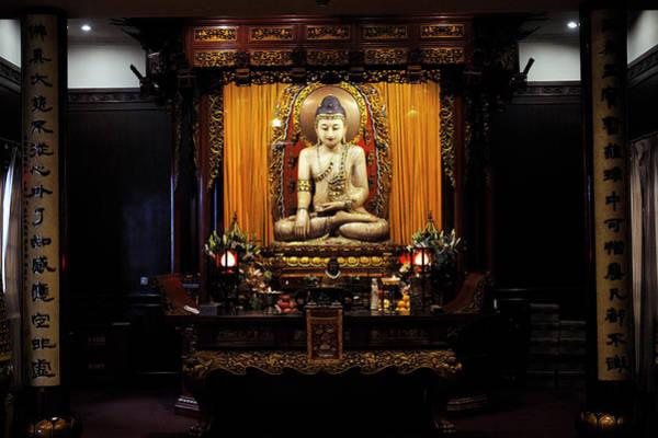 Jade Photograph - Jade Buddha Temple. Shanghai, China by Marco Brivio