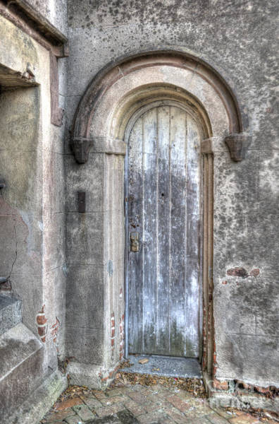 Photograph - Old City Jail Door by Dale Powell