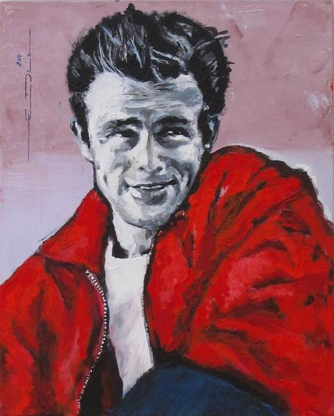 Painting - James Dean Without A Cause by Eric Dee