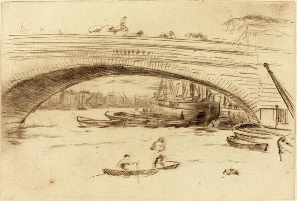 Wall Art - Drawing - James Mcneill Whistler American, 1834 - 1903 by Quint Lox