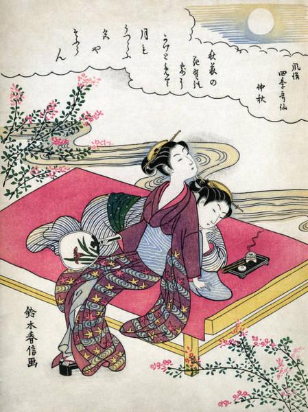 Wall Art - Painting - Japan Women, 1770 by Granger