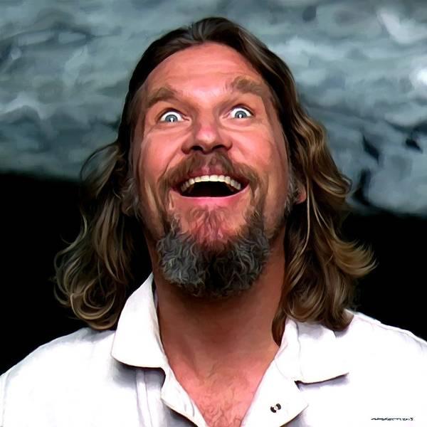 Digital Art - Jeff Bridges As The Dude by Gabriel T Toro