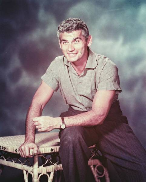 Chandler Photograph - Jeff Chandler by Silver Screen