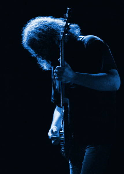 Jerry Garcia Photograph - Jerry Blue Sillow by Ben Upham