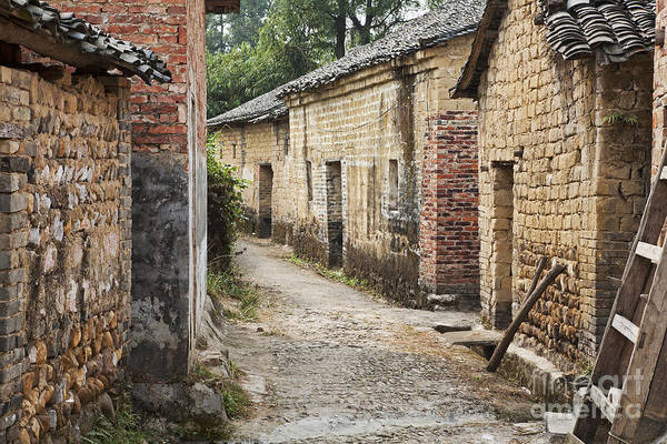 Wall Art - Photograph - Jiangtou Ancient Village by David Davis
