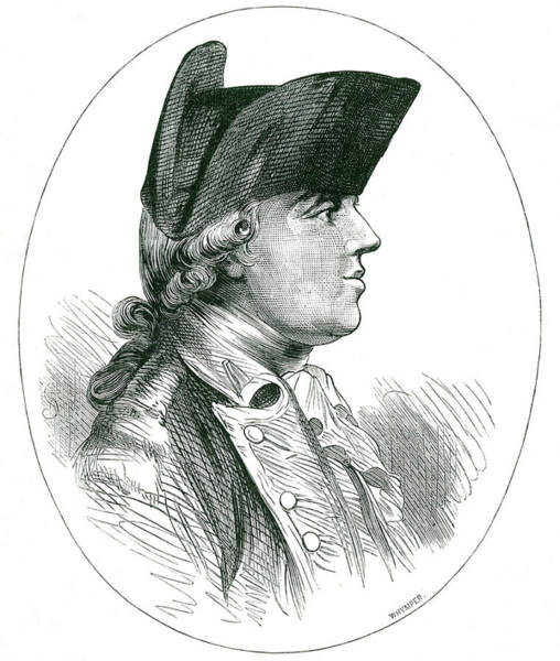 Wall Art - Drawing - John Burgoyne  Dramatist And Army by Mary Evans Picture Library