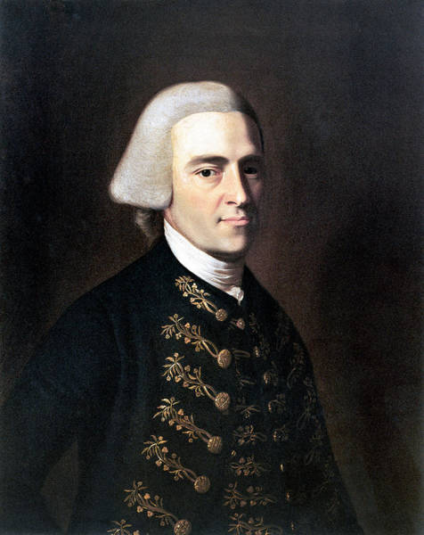 Wall Art - Photograph - John Hancock (1737-1793) by Granger