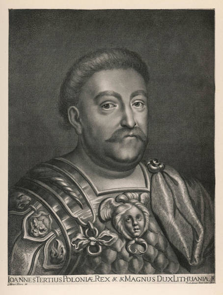 Wall Art - Drawing - John IIi Sobieski  King Of Poland by Mary Evans Picture Library