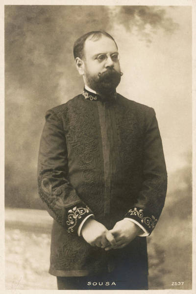Wall Art - Photograph - John Philip Sousa     Nicknamed by Mary Evans Picture Library