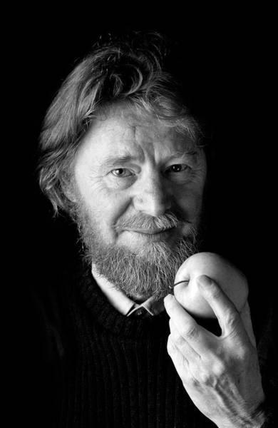 Paradox Photograph - John Stewart Bell by Peter Menzel