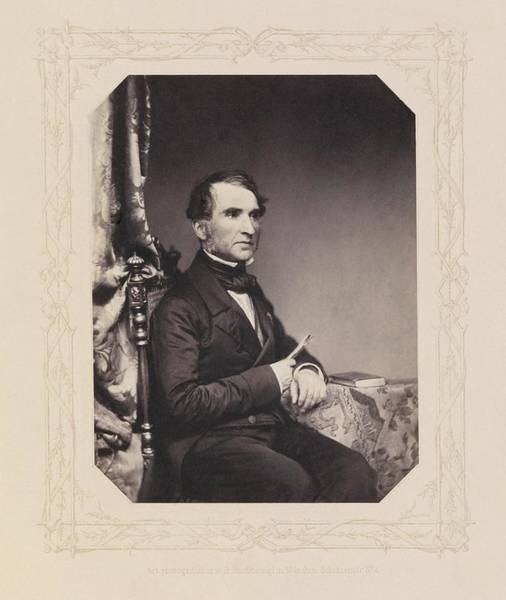 Liebig Wall Art - Photograph - Justus Von Liebig by Royal Institution Of Great Britain / Science Photo Library