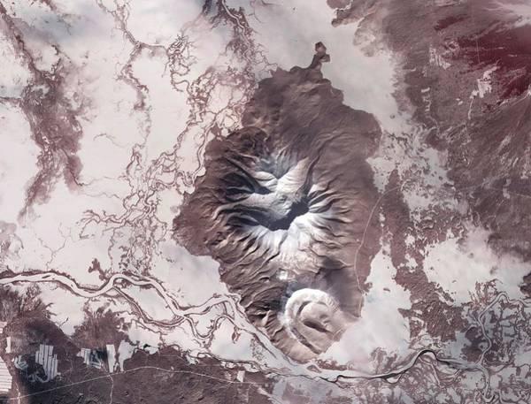 Kamchatka Photograph - Kamchatka Peninsula by Nasa/science Photo Library