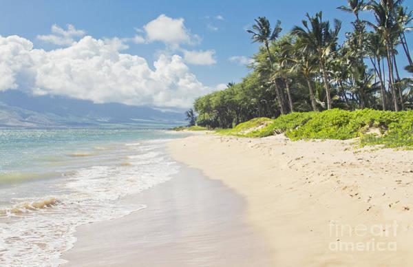 Photograph - Kawililipoa Beach Kihei Maui Hawaii by Sharon Mau